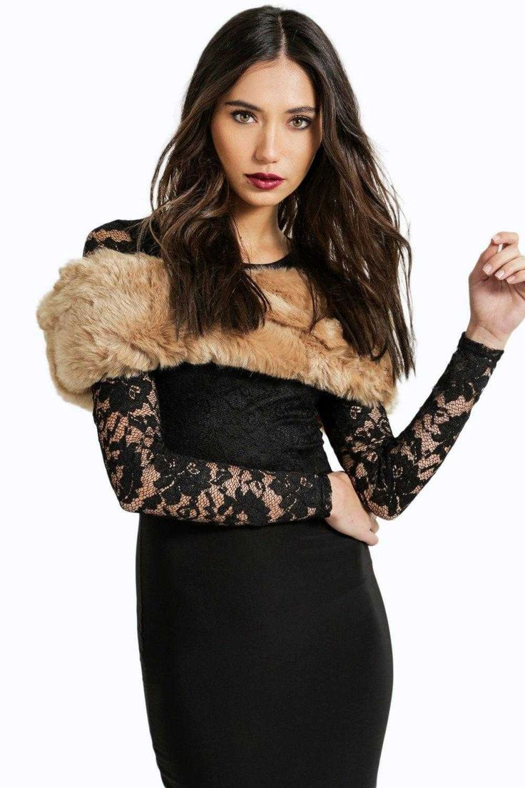 #FashionVault #boohoo #Sale #Women - Check this : boohoo Sarah Luxury Faux Fur Snood - brown for $28 USD instead of $10 #OnSale