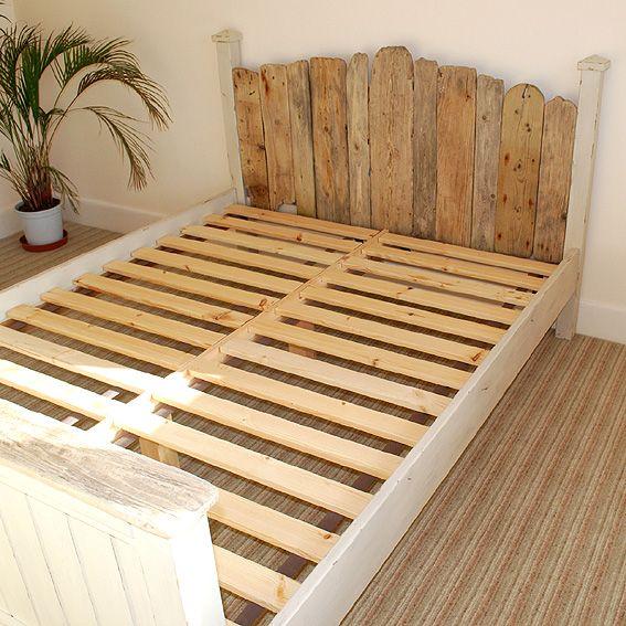 driftwood headboard - Driftwood Bed Frame