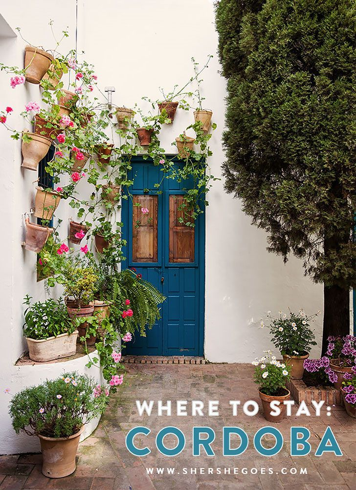 Where to say in Cordoba Spain to be close to the main sights and historical part of town. Click through to read!