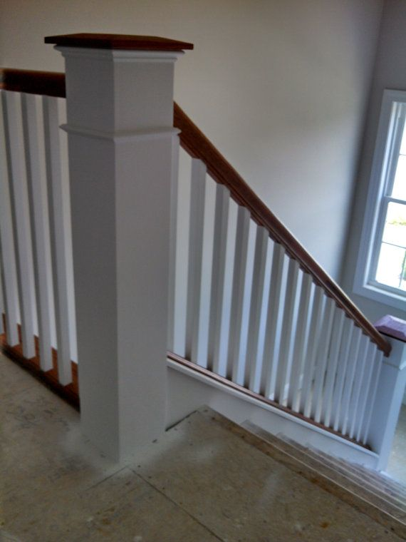 Best 40 Flush Box Newel Post Primed By Redclaywoodworks On Etsy 400 x 300