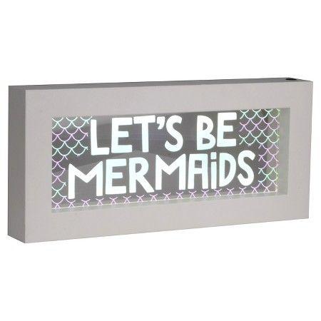 Let 39 s be mermaids light box pillowfort target gift for Room decor lights target