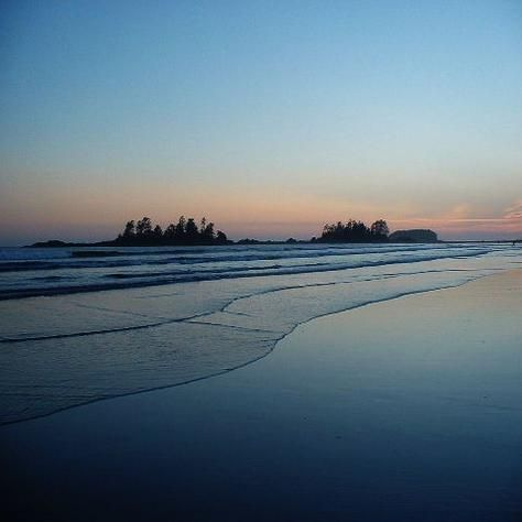 Tofino, BC One of the fabulous beaches that seem to go on forever!