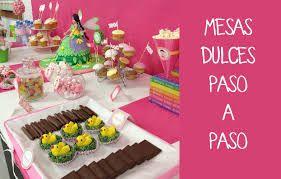 Resultado de imagen para decoración fiestas de 15 años mesa de dulces