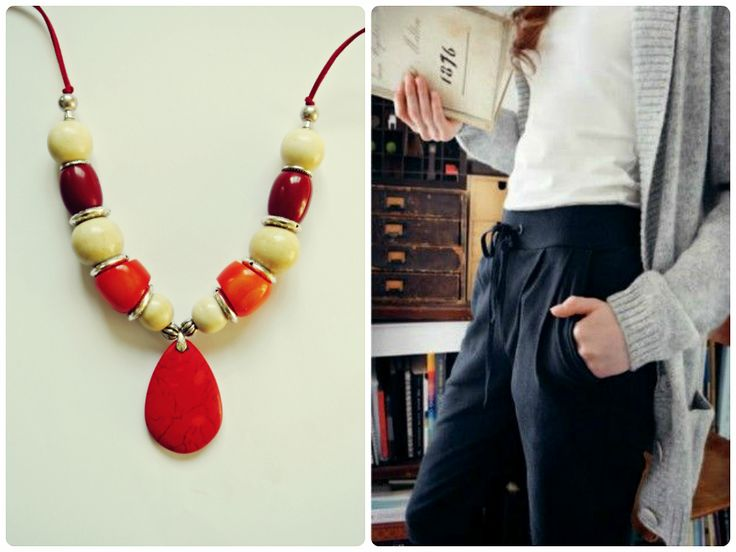 HAVA Collection - Red 01 Necklace