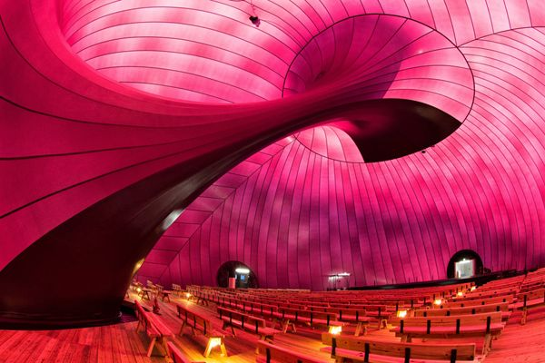 Ark Nova: una sala da concerto gonfiabile