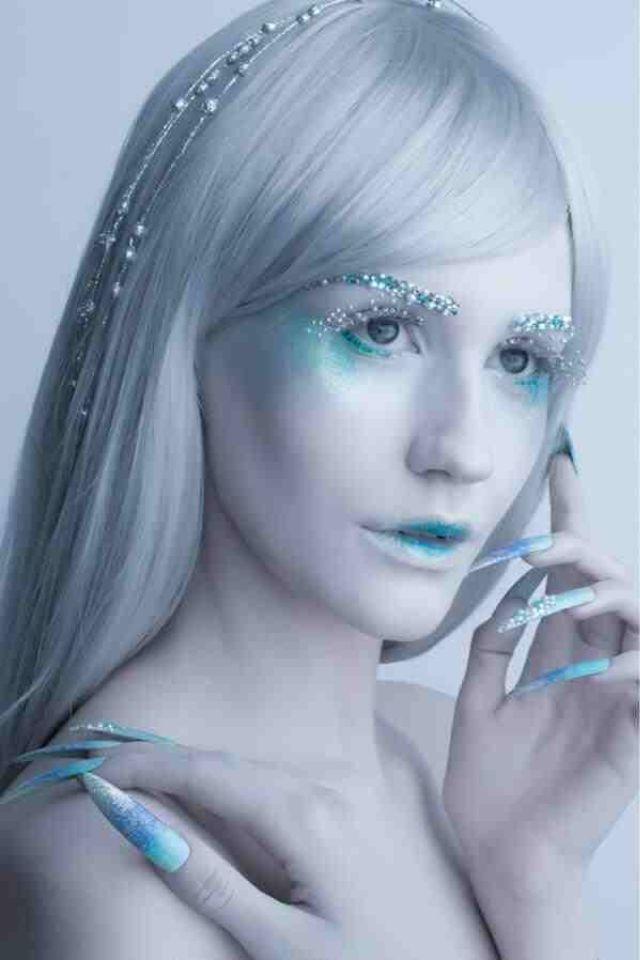 Ice queen makeup | Hal...