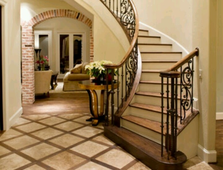 Foyer Tile Grout : Tuscan foyer entryways and foyers pinterest