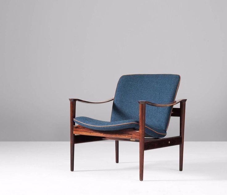 Fredrik Kayser Re-Upholstered Armchair 2