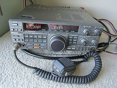 KENWOOD TS-440S HF HAM RADIO TRANSCEIVER RECEIVER w/MICROPHONE 440 S