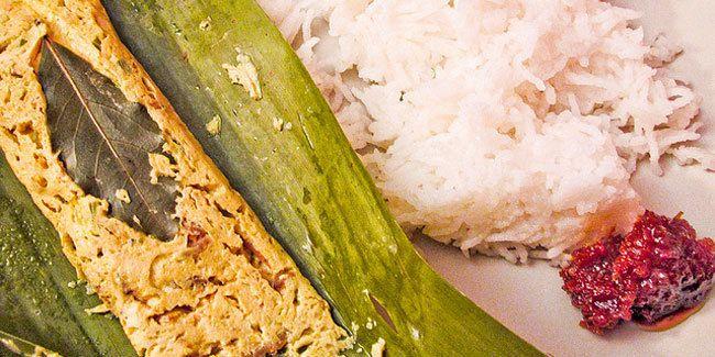 Pepes Tahu Bungkus Daun Pisang  Menu masakan tradisional ini mudah dibuat