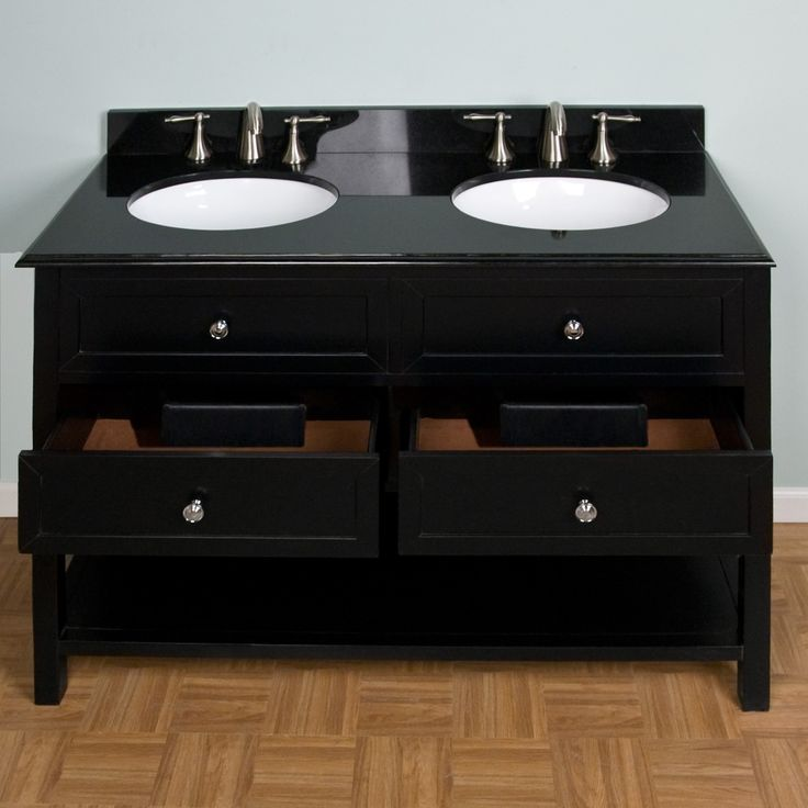 Photos On  Taren Double Sink Vanity Undermount Basins Faucet Holes