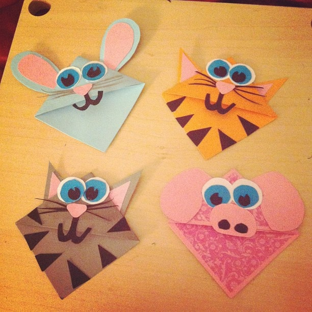 Animal Bookmarks :)