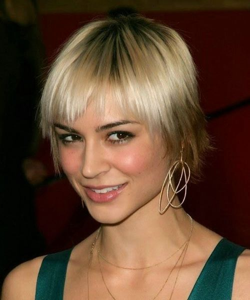 short hair styles for females 73 best beautiful images on beautiful 6762 | 6762e6051b7f3fc28ec575efbceeb788 short hairstyles with bangs medium length hairstyles