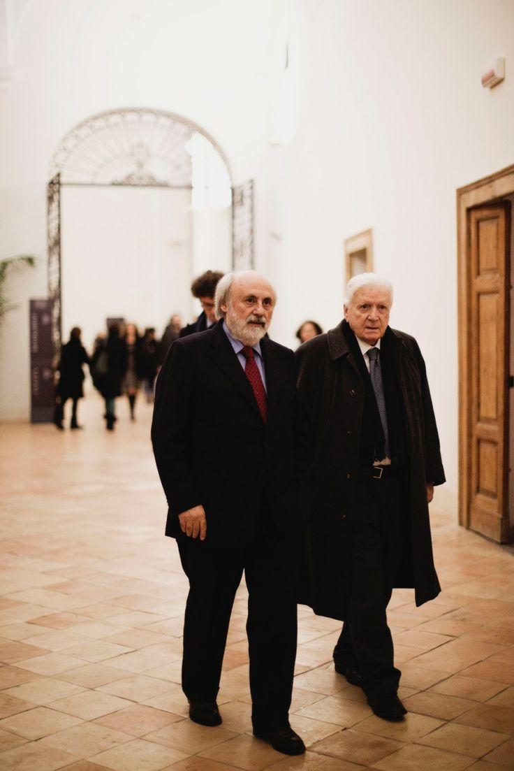 Renato Parascandolo e Sergio Zavoli Foto: Mia Di Domenico