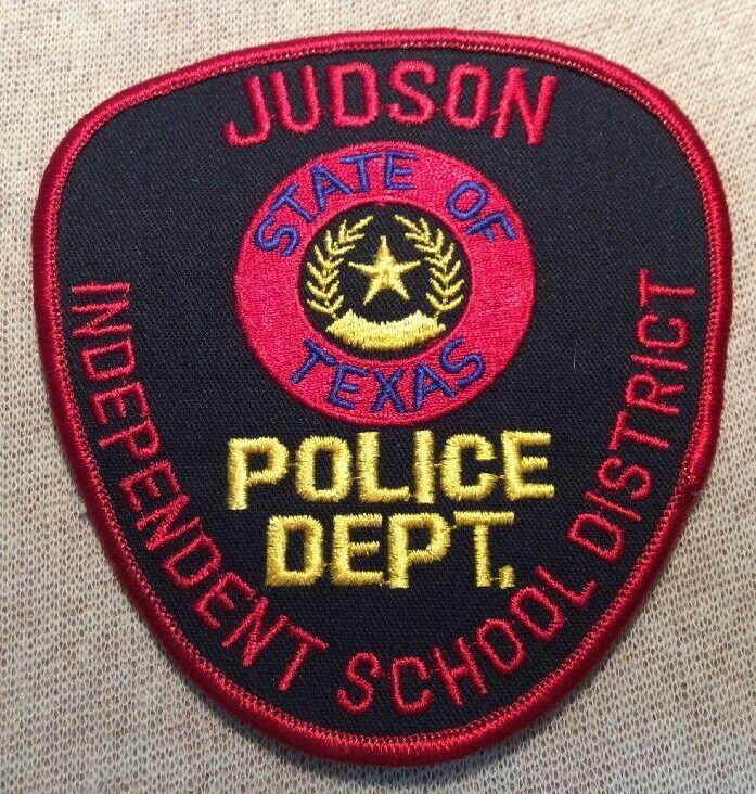 Tx Judson Isd Texas Police Patch Ebay Texas Police Police Patches Patches