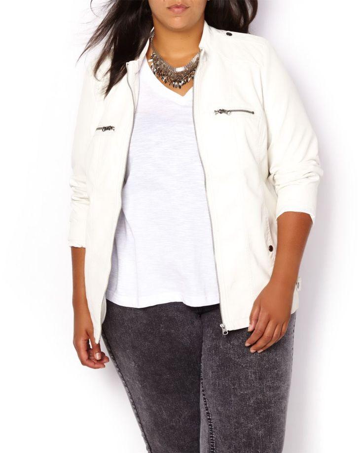 Faux-Leather Jacket | Penningtons