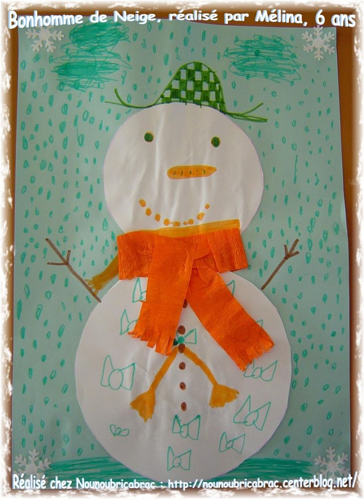 1000 images about bricolage d 39 hiver on pinterest welcome winter winter craft and snow - Bonhomme de neige bricolage ...