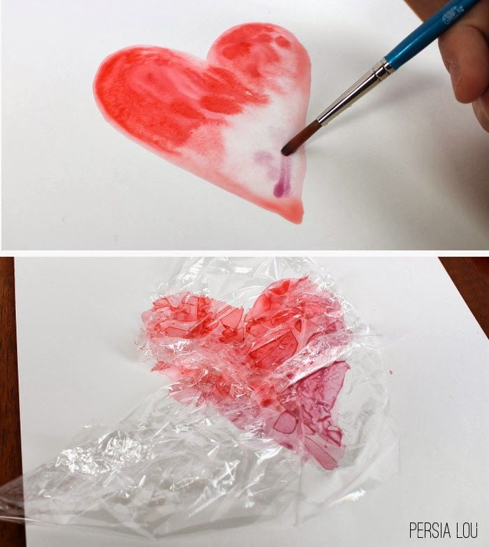 Eighteen25 Simple Watercolor Hearts Valentine S Day Pinterest