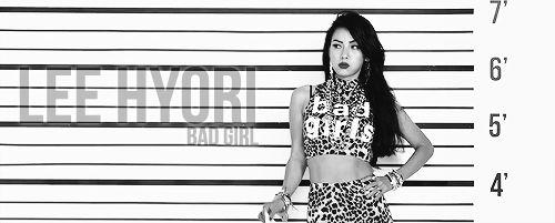 Lee Hyori| Bad Girl [gif]