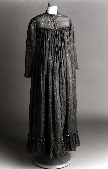 Maternity dress, 1903, United States (North Carolina) via the North Carolina Museum of History