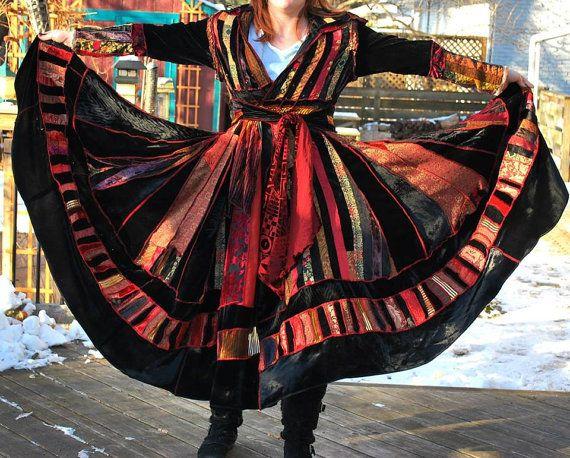 Katwise Style Coat K-Coat Fairy Coat Pixie by TheEnchantedCircle