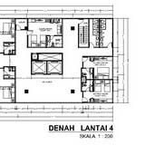 18. DENAH LANTAI 4