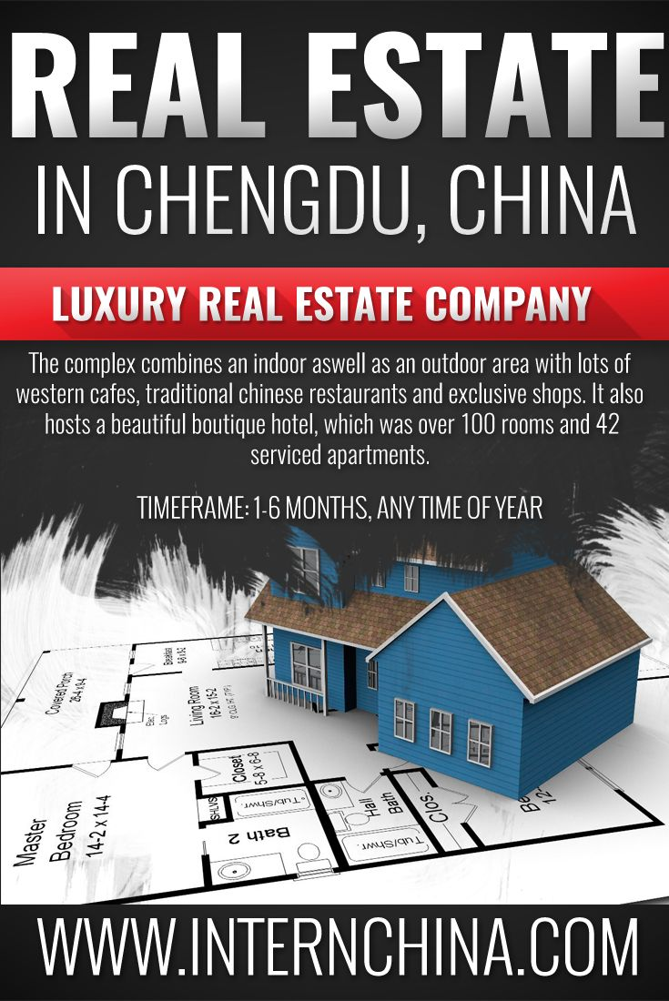 This internship is a global real estate company that has recently completed a new shopping mall complete with a hotel hosting over 100 rooms at 42 serviced apartments. You will assist the marketing team in running events, conducting market research and support the customer support center. Interested? See more here: https://internchina.com/global-real-estate-company-ref-cdbs65/ Intern China offers Chinese internships in alternative locations in China for students and graduates!