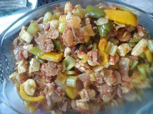 Riz Cajun Jumbalaya - Recette de cuisine Marmiton : une recette