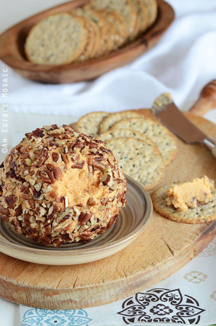 Cheddar Cheese Ball Appetizer (aka Cheddar Pub Spread ...