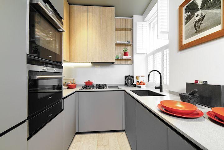 Flats em Londres recebem cozinhas modernas da Minacciolo