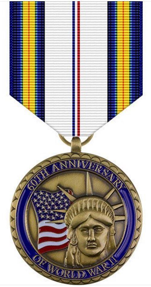 World War II 60th Anniversary Commemorative Medal