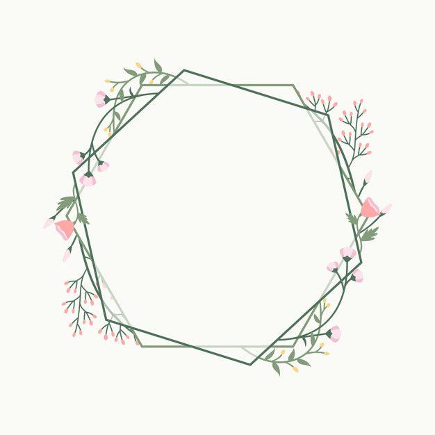 Download Floral Frame Badge For Free Vector Free Floral Wreaths Illustration Flower Doodles