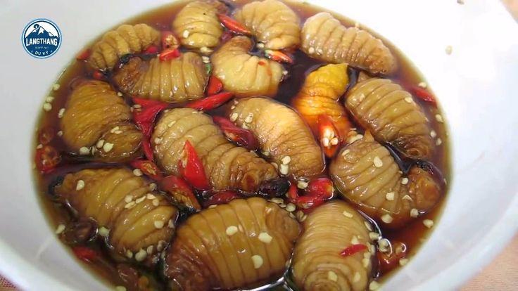 Ăn Đuông Dừa Món Ngon Dân Dã Miền Tây