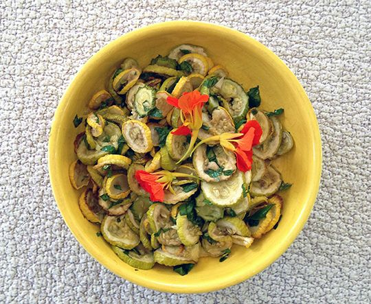 Wondering what to do with too much zucchini? Try this traditional roman Jewish recipe.