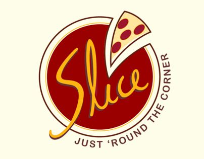 """Check out this @Behance project: """"Visual Communication - Slice Pizzeria """" https://www.behance.net/gallery/16626069/Visual-Communication-Slice-Pizzeria-"""