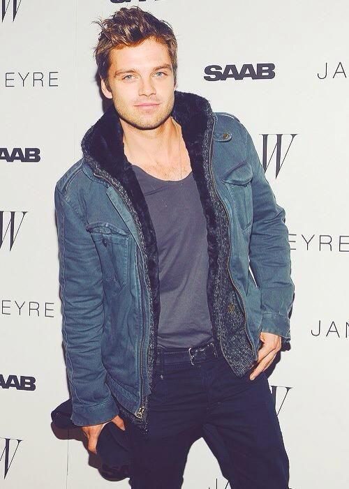 Why yes, I would be happy to procreate with you. sebastian stan -
