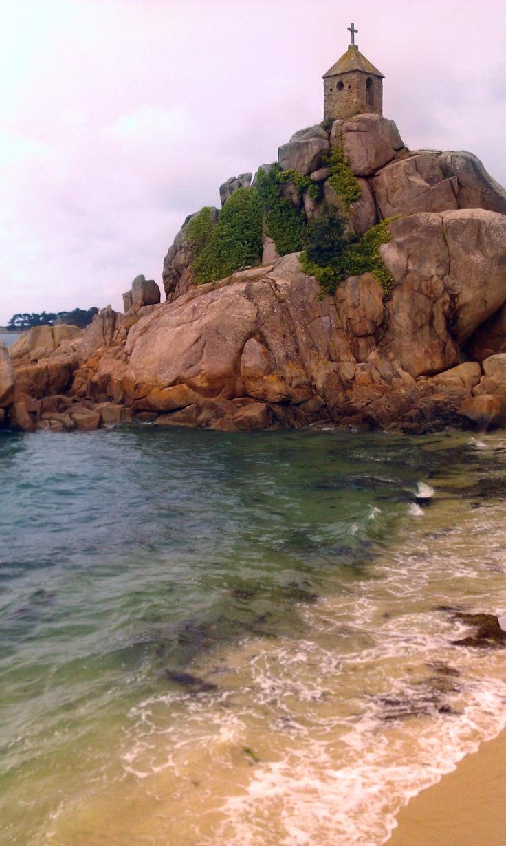Port Blanc. Brittany