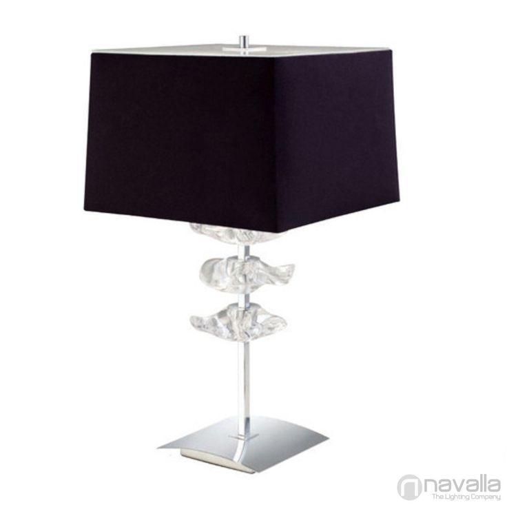 AKIRA - Mantra 0793 - Asztali lámpa - króm 2xE27 max. 20 W 30x30x61 cm [MANTRA-0793] - 18.620 Ft