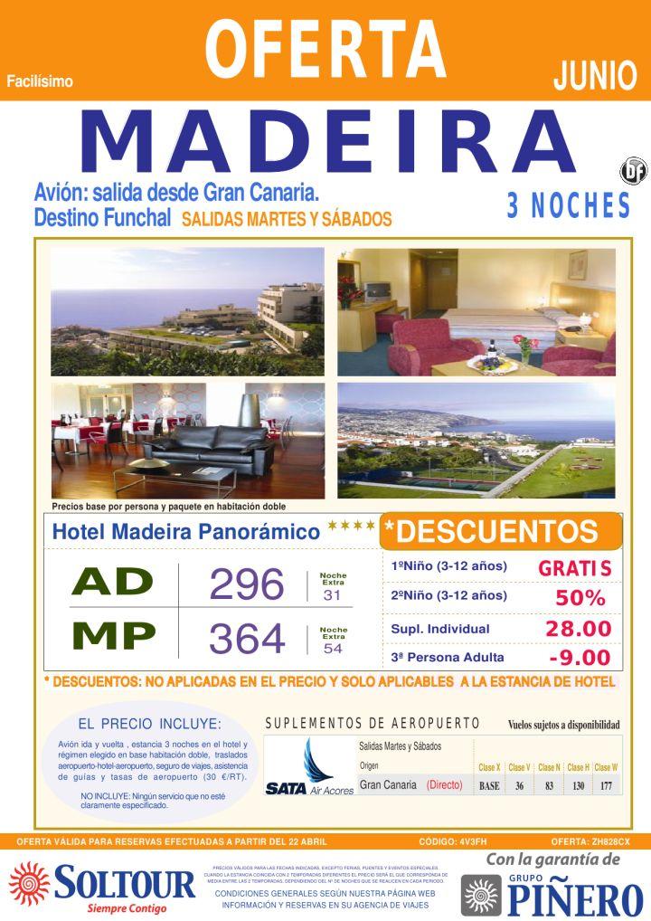 MADEIRA - Avión + Hotel Madeira Panorámico, salidas en Junio desde Gran Canaria - http://zocotours.com/madeira-avion-hotel-madeira-panoramico-salidas-en-junio-desde-gran-canaria/