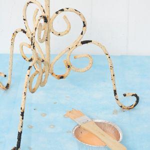 Stap vir stap - verf metaal meubels