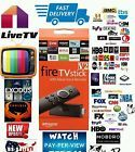 Quad Core AMAZON TV FIRE STICK JAILBROKEN BEST BUILD MOBDRO FULLY LOADED XXXXXX