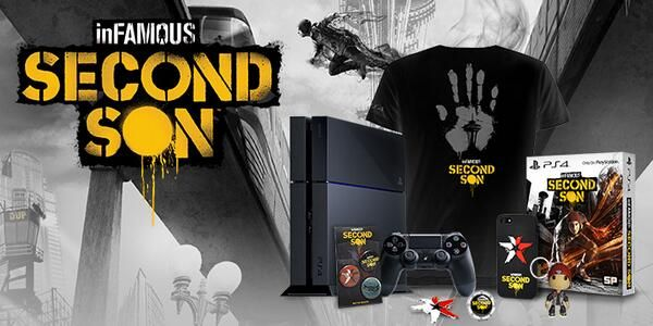 Infamous Second Son PS4 goodies!