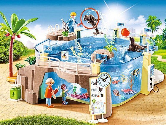 2 will win a $59.99 Aquarium Playset from PLAYMOBIL. With this playset from PLAYMOBIL, two readers will be able to take a piece of the ocean home with them!