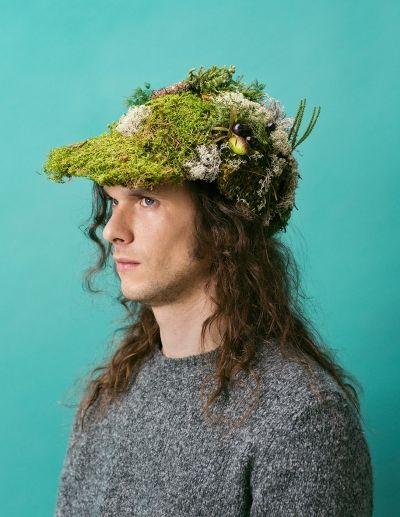 Moss cap by Laura Väinölä www.floraandlaura.com