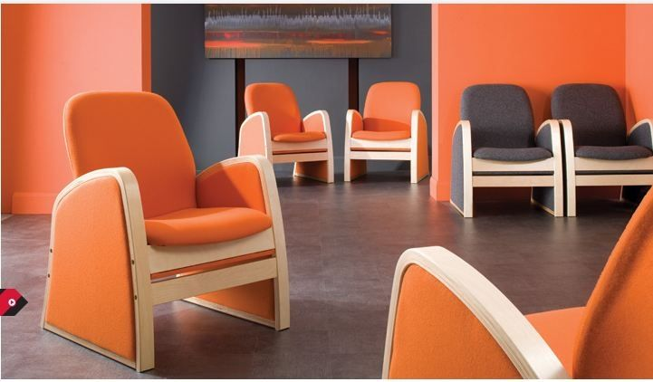 Orange you glad to see me? The Habitat Single Armchair in this vibrant colour way brings a mid-century modern flair to the room.  For more information, call Crown Furniture on 1800 194 194, or visit: http://bit.ly/2mu4xxO