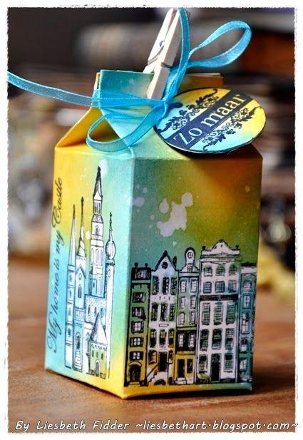 Liesbeth's Arts & Crafts: De melkpakjes !