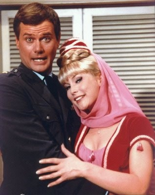 """I Dream of Jeannie....a simple sitcom from the sixties...""""I was a little girl when this show aired...I loved it!"""""""