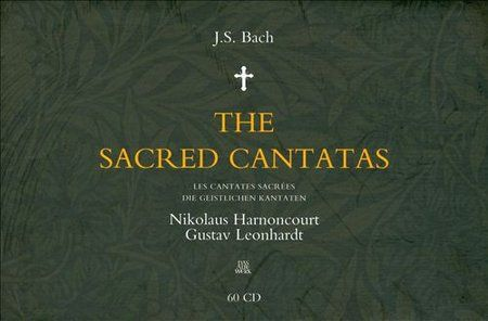 Nikolaus Harnoncourt, Gustav Leonhardt - Bach: The Sacred Kantatas 60 CD Box Set Part 3 (2008)
