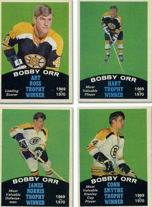 Bobby Orr. Great set of cards. Man I wish I still had these.