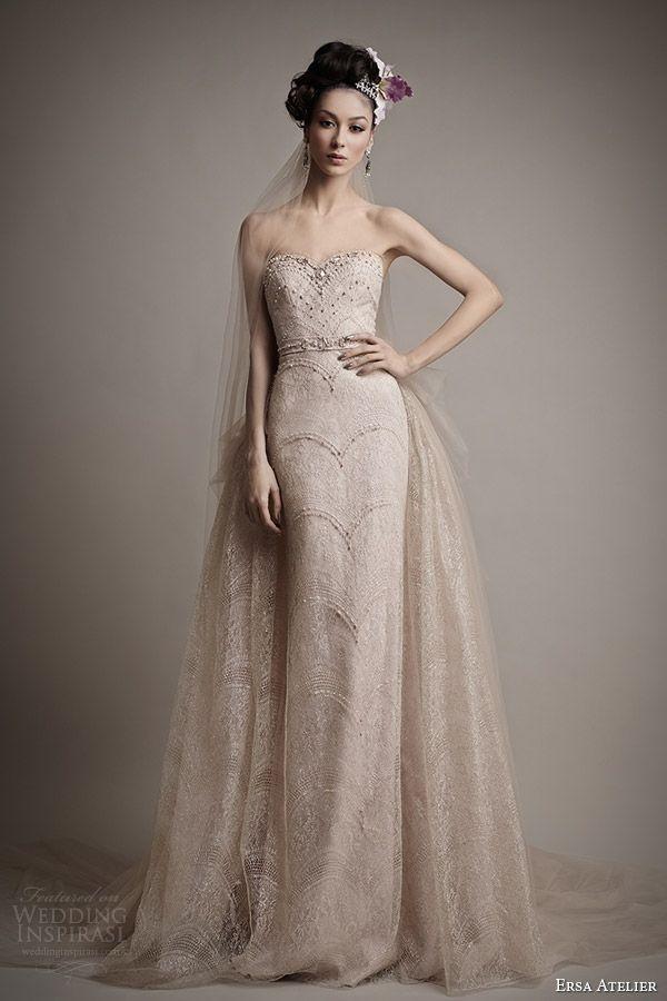 ersa atelier wedding dress 2015 tania color wedding dress overskirt